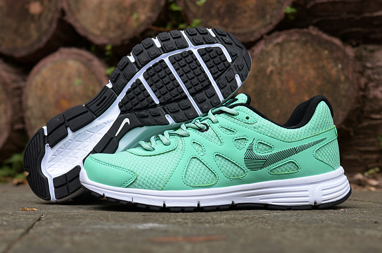 Women Nike Revolution 2 MSL Green Running Shoes