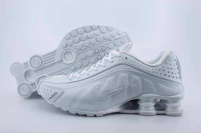 Women Shox All White Shoes