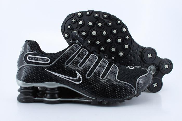 Women Nike Shox NZ All Black Shoes