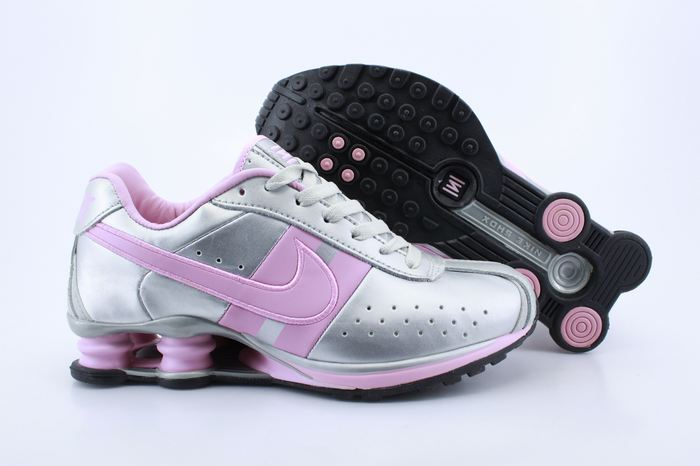 Women Shox Silver Pink Shoes