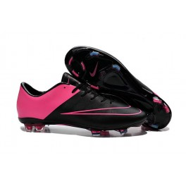nike mercurial vapor 10 fg footabll cleats black hyper pink
