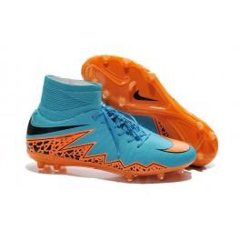 mens nike hypervenom phantom 2 fg soccer shoes acc blue orange black