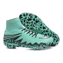 mens nike hypervenom phantom 2 fg soccer shoes acc green grey black