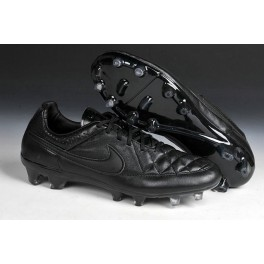 new nike football shoes nike tiempo legend fg cleats all black