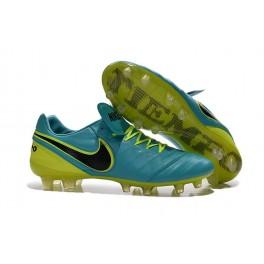 new shoes for men nike tiempo legend vi fg cleats blue volt black