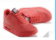 nike air max 90 indenpence red for women
