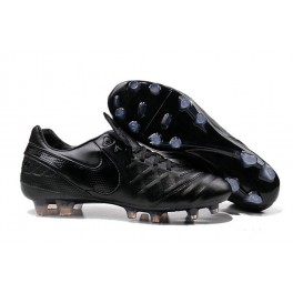 nike cleats boots nike tiempo legend 6 fg black out