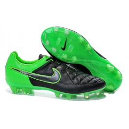 nike football cleats for men tiempo legend fg black green