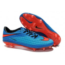 nike hypervenom phantom fg acc soccer boots red blue black