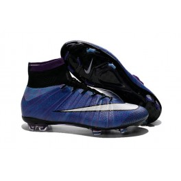 nike mercurial superfly fg soccer cleats shoes purple white black