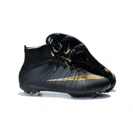 nike new mercurial superfly fg men s firm ground soccer boots gold black