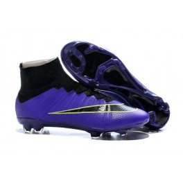 nike new mercurial superfly fg men s firm ground soccer boots violet black