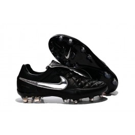 nike tiempo legend v fg men's firm ground soccer cleat tiempo legend v fg totti premium silvery black