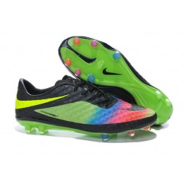 soccer boots nike hypervenom phantom fg green pink blue yellow black